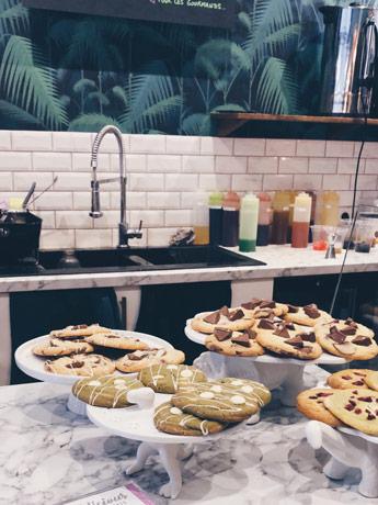 Les cookies de Bubblicious à Rouen