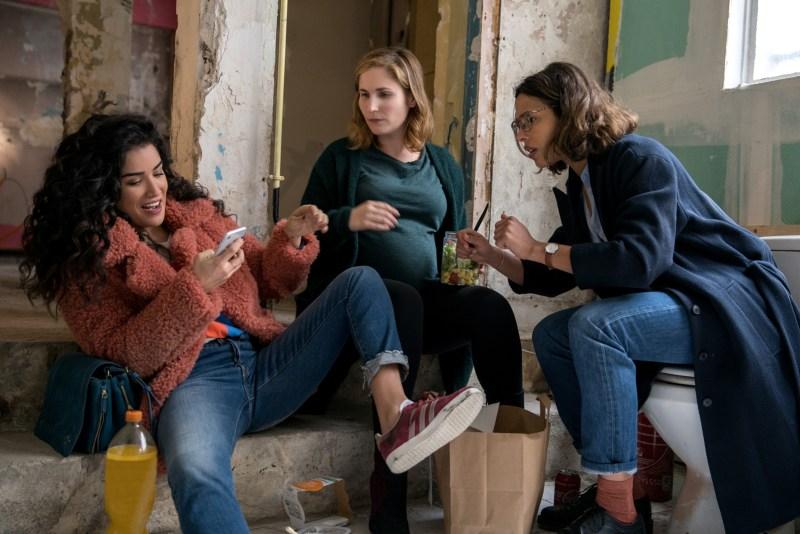 Elsa, Charlotte et Milou, les copines de Plan Coeur
