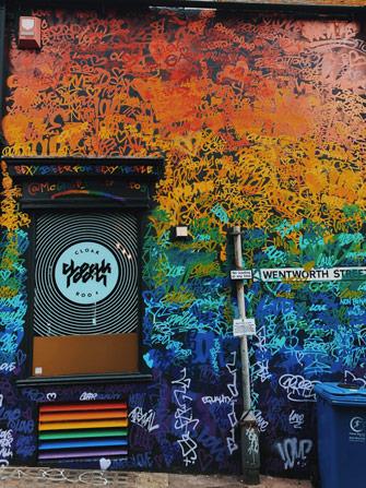 Street art de la pride de Brighton