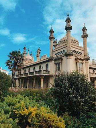 Architecture du Royal Pavillon