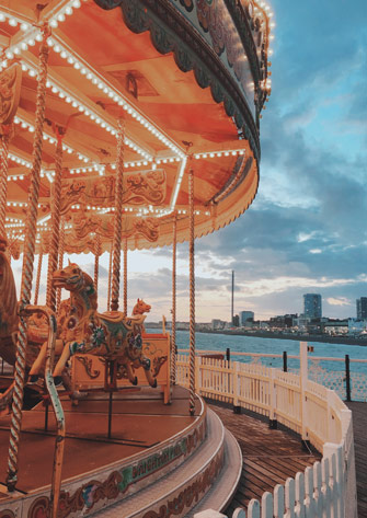 Le carrousel de Brighton