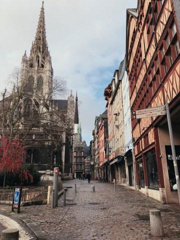 Quartier Saint Maclou à Rouen