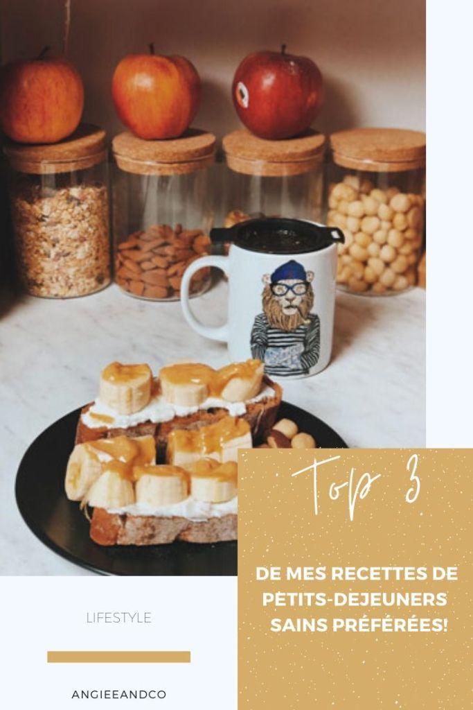 3 idées de recettes pour un petit déjeuner équilibré