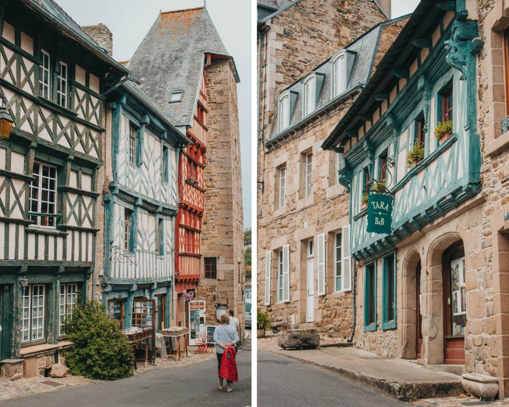La beauté des rues de Tréguier en Bretagne
