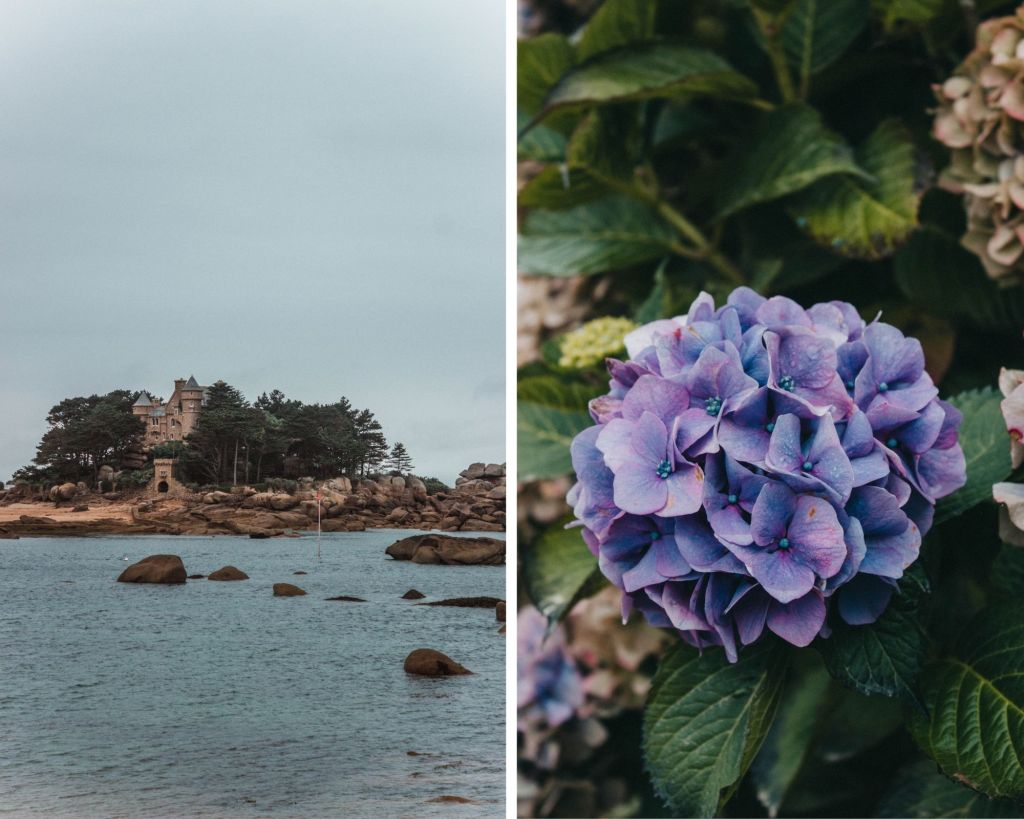 Les jolies côtes de Granit Rose