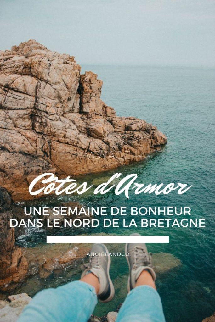 Epingle Pinterest pour mon article sur les Côtes d'Armor