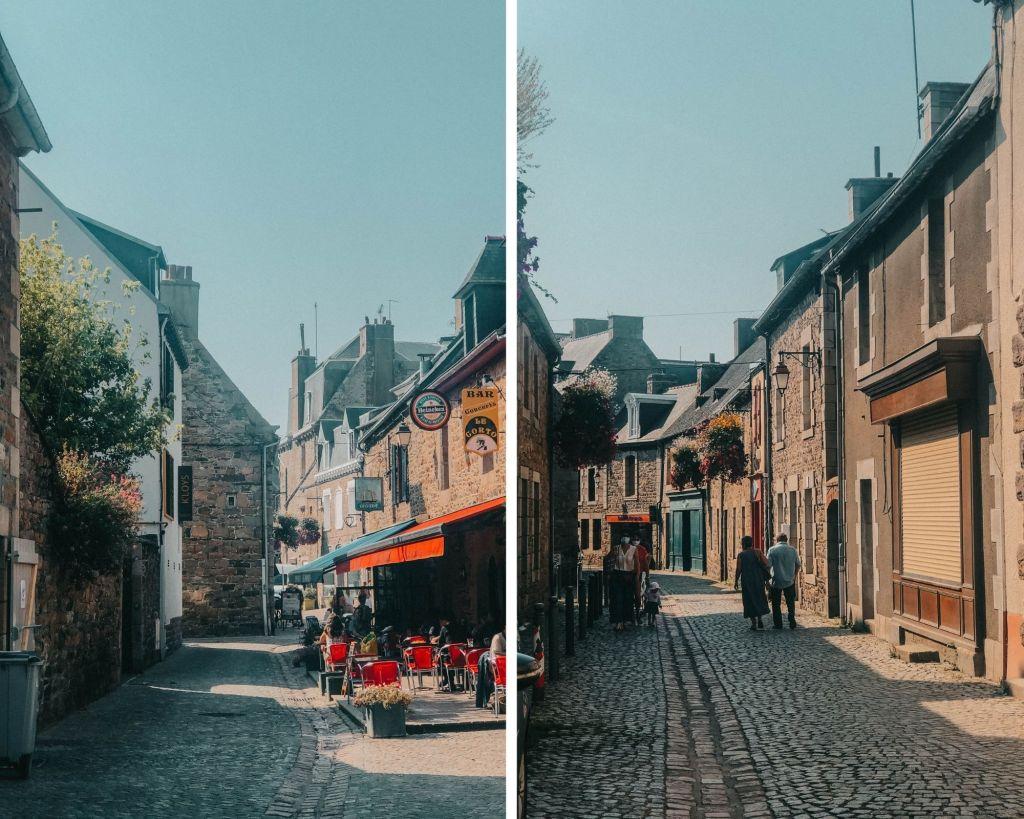 Les jolies ruelles de Paimpol dans les Côte d'Armor