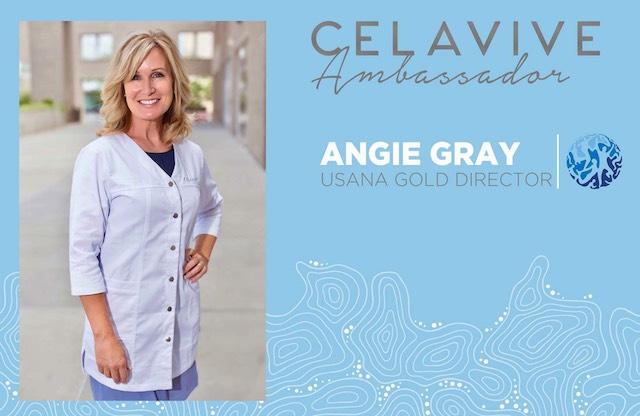 Angie Gray Celavive Ambassador