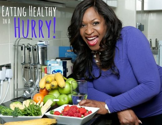 eating healthy in a hurry