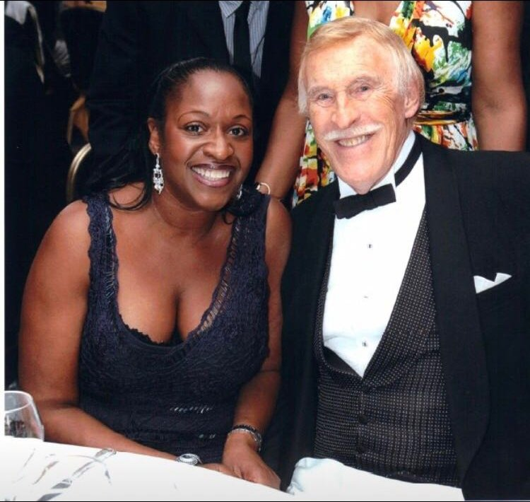 Angie Greaves and Bruce Forsyth