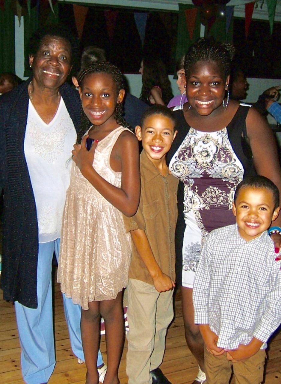 Majorie and Grandchildren