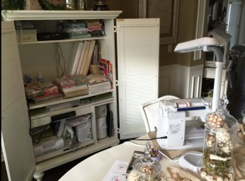 Sewing-cabinet