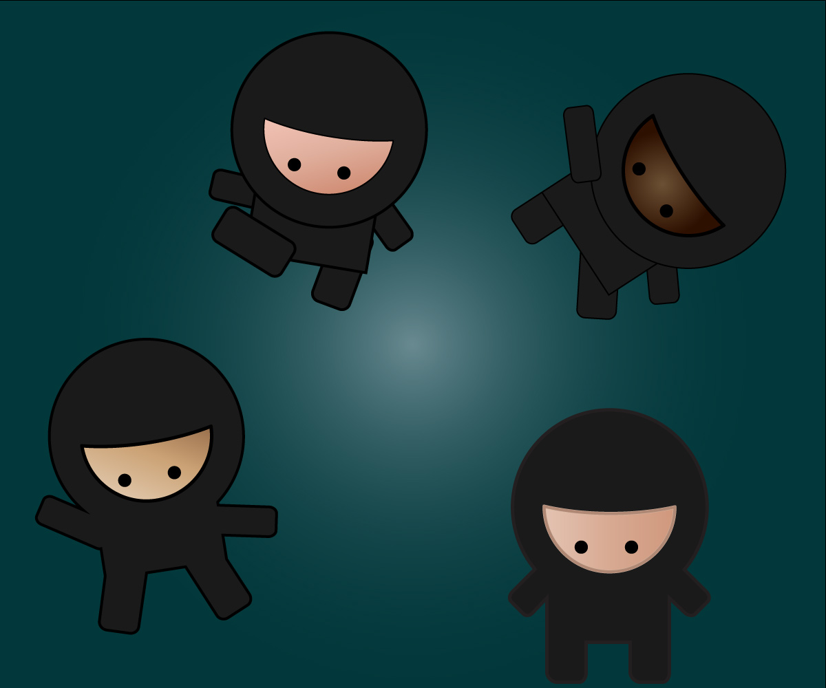Ninja - Adobe Illustrator