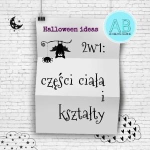 Halloween ideas shapes craft