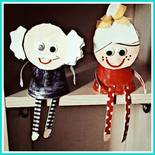 Nursery rhyme puppets