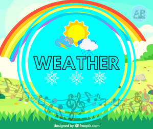 Weather Songs, stories and cartoons for kids