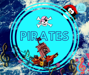 Pirates. Songs, stories and cartoons for kids