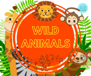 Wild animals. Songs, stories and cartoons for kids