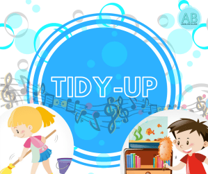 Tidy up! English songs and stories