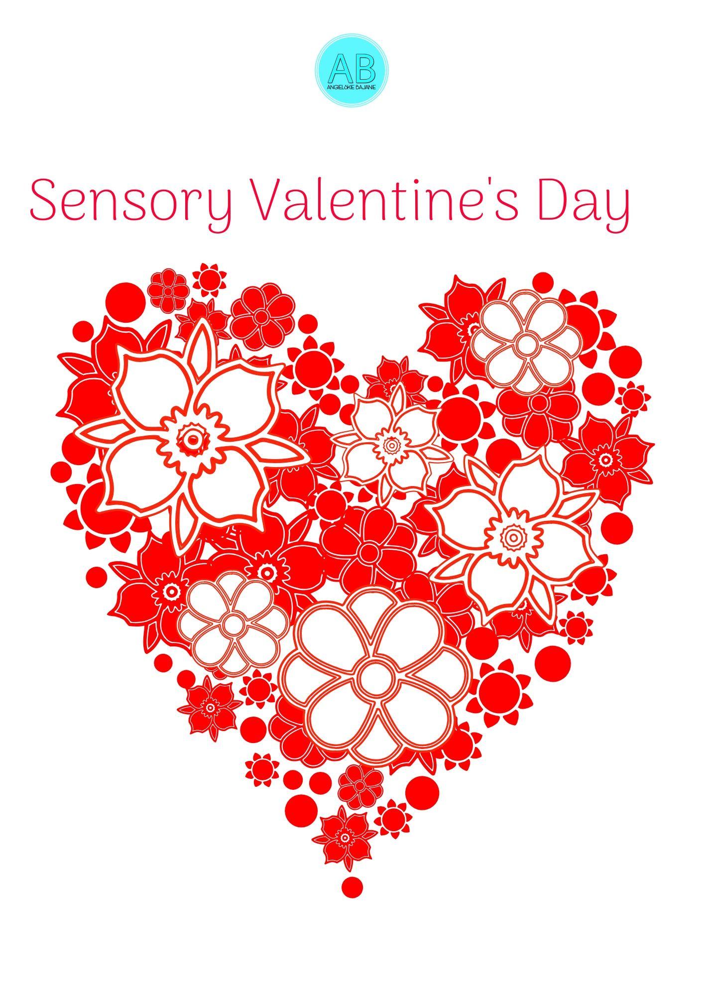 Valentine's Day Sensory Hearts
