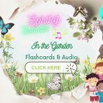 Wiosna w ogrodzie – sensory spring garden – odgłosy