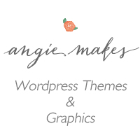 angiemakes wordpress themes & graphics