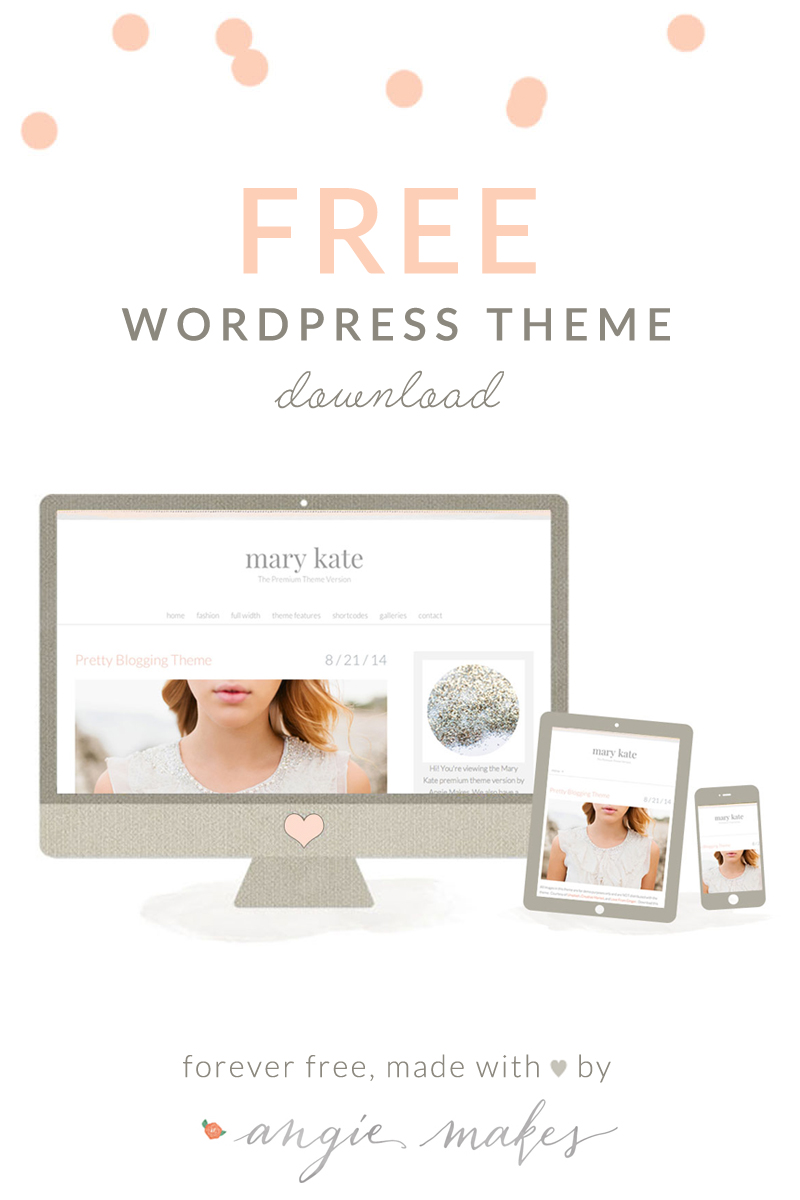 free cute blogger templates