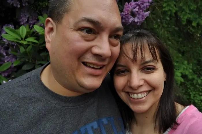 Jason and I at Portland, Oregon Zoo Brew