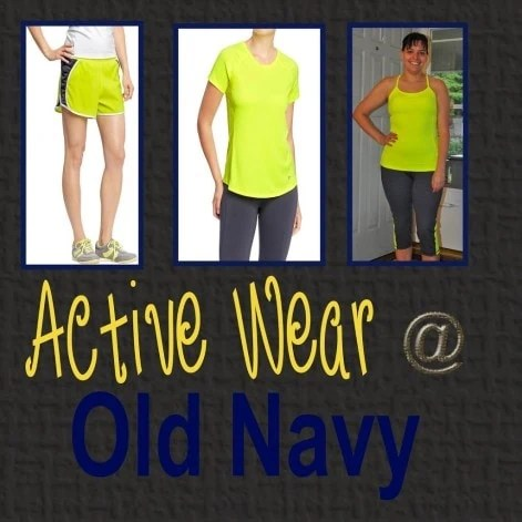Old Navy Active Wear – Spring Wear