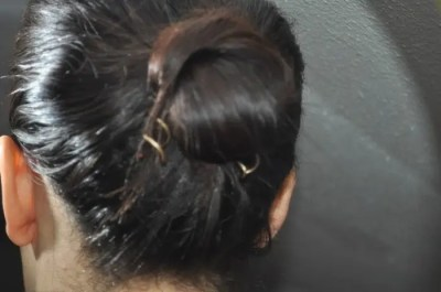 angie's angle hair knot