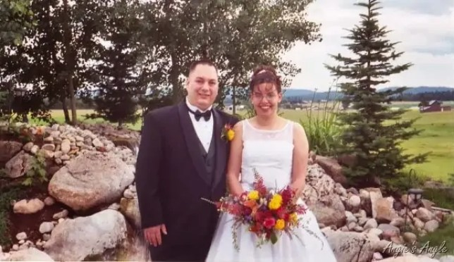 Jason and Angie's Wedding Day - 2003