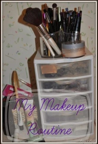 Routine of my Makeup - The whole set up