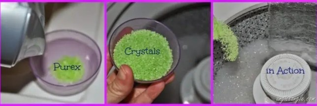 Purex Crystals Limited Edition Fabulously Fresh in Action