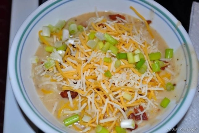 Day 114 - Test Homemade Potato Soup