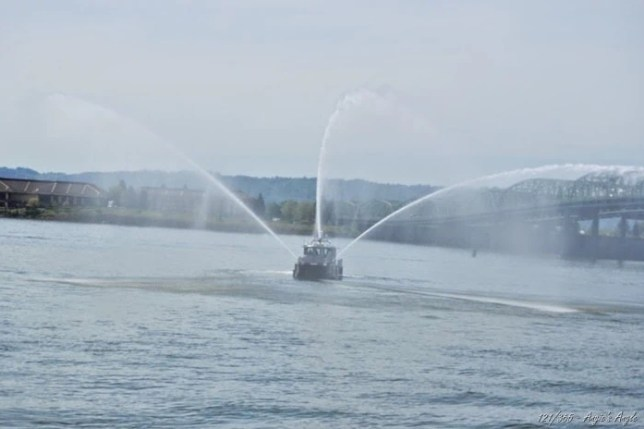 Day 121 - Water Fire Boat