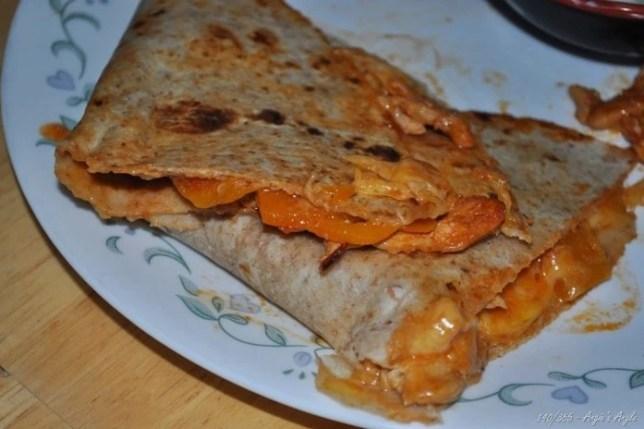 Day 140 - Amazing Chicken quesadilla