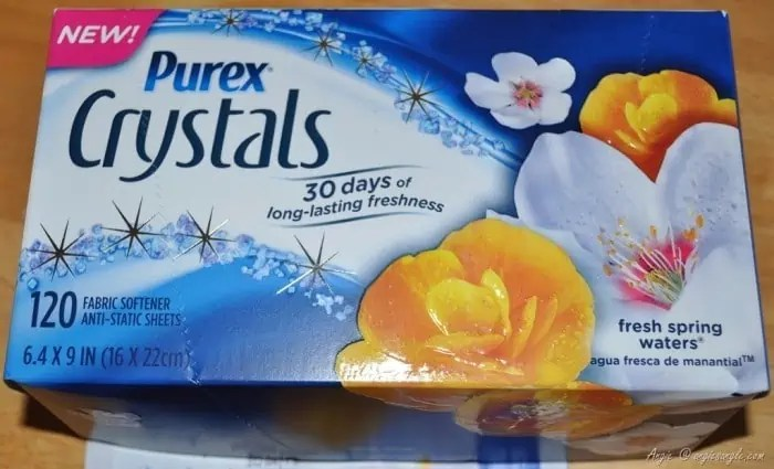 Let Purex Crystals Dryer Sheets Take Care of your Clothes +Giveaway ends 5/21 at 8p.m. (PST)