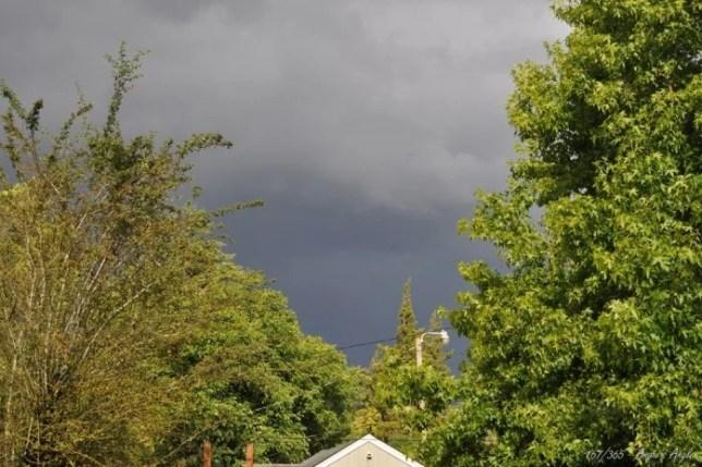 Day 167 - Dark Clouds