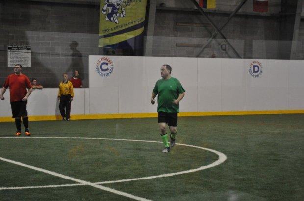 Jason at Indoor Soccer