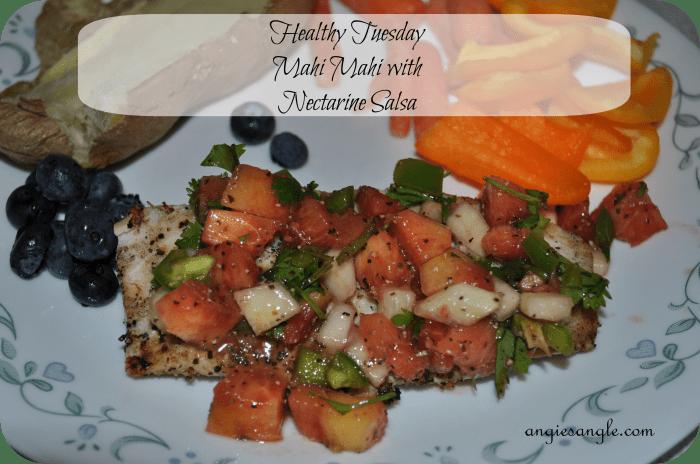 Mahi Mahi with Nectarine Salsa – Healthy Tuesday