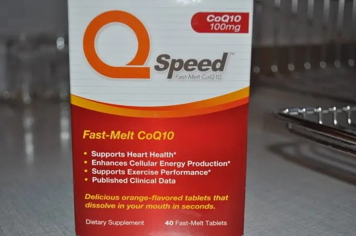 QSpeed CoQ10 Review #QSpeedCoQ10