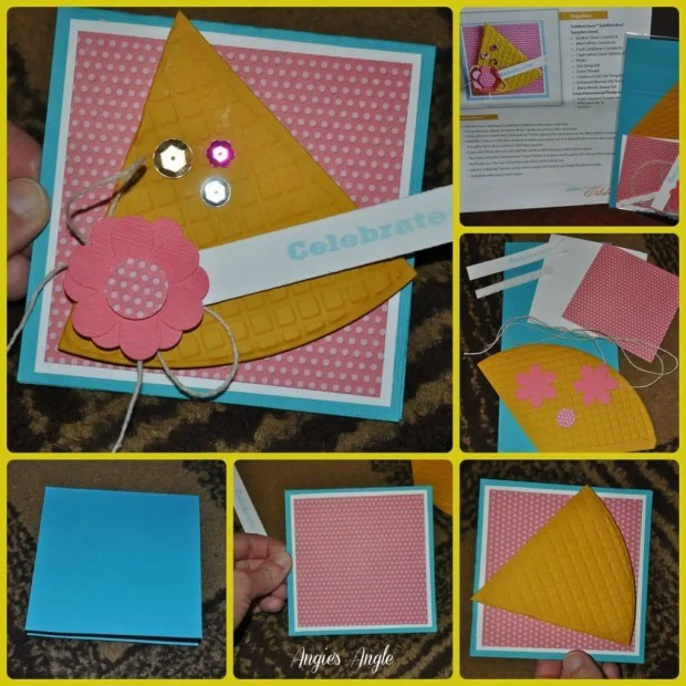 Spellbinders Celebrations Collection Review - Celebrate Party Hat Card