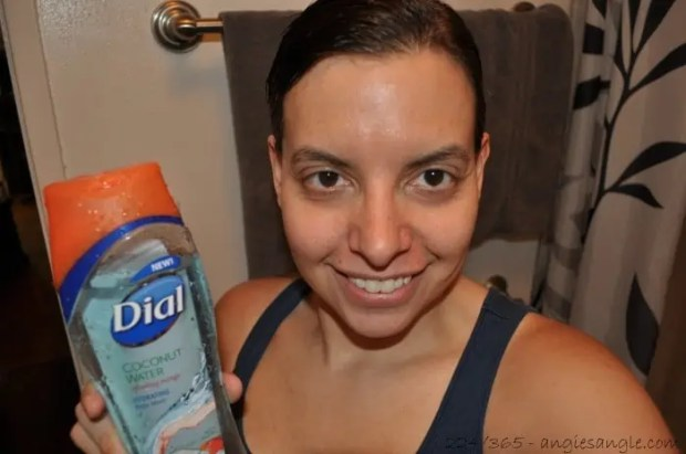 Catch the Moment 365 - Day 224 - Posing with Dial Body Wash