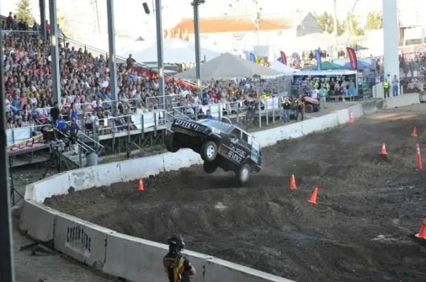 Tuff Trucks at the Clark County Fair 2014 - Vancouver, WA