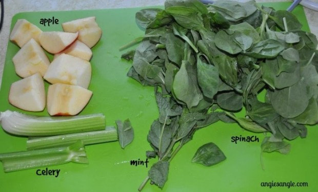Healthy Tuesday - Mint Julep Juicing Juice - What you need