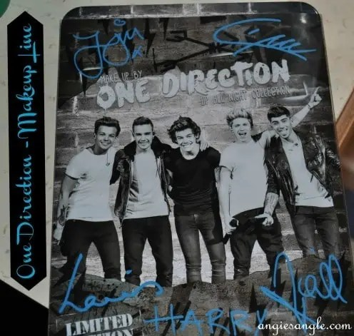 One Direction Makeup Line – My Look #makeupby1D, #thelookscollection, #markwinse