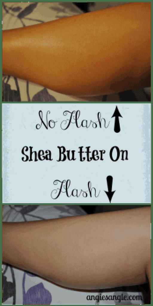 Pure Shea Butter - On Skin