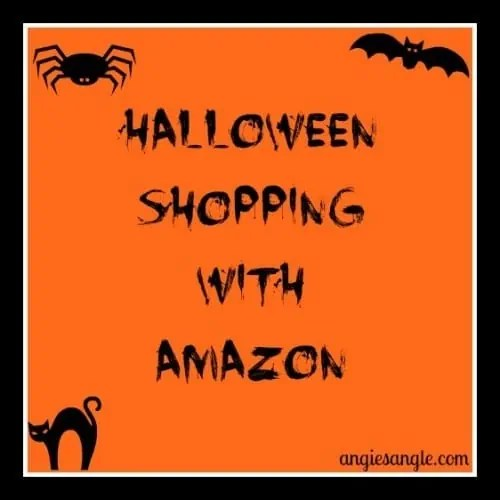 Halloween Shopping with Amazon #blogboost