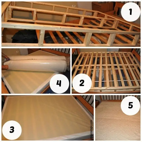 Dynasty Bed - The Set Up