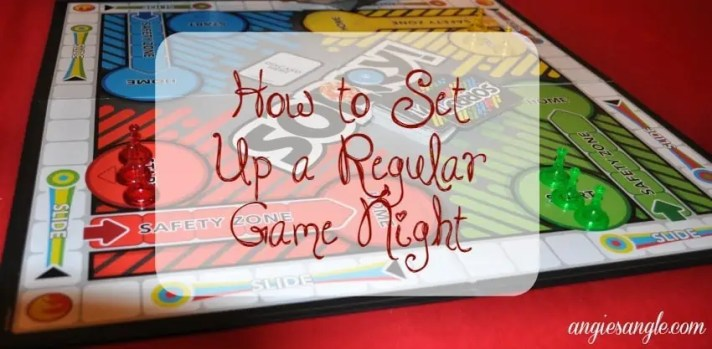 How to Set Up a Regular Game Night